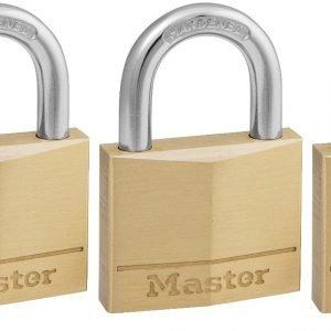 Masterlock Riippulukko Messinki 40 Mm 4 Kpl