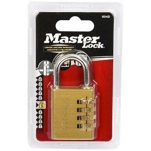 Masterlock Riippulukko Numero Messinki 46 Mm