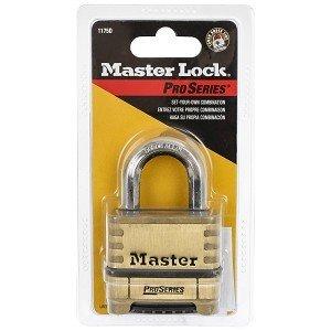 Masterlock Riippulukko Numero Messinki 57 Mm